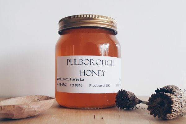 Honey from West Sussex
