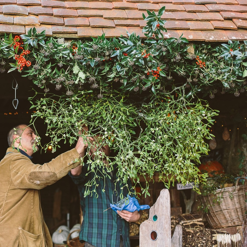 Christmas Shop opens in the Wild Sussex Wood Yard