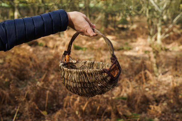 Round frame berry basket 1